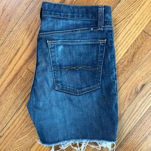 ❤ Lucky Brand Sienna Cigarette Cutoff Jeans Shorts